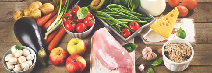 Potency und Lebensmitteln